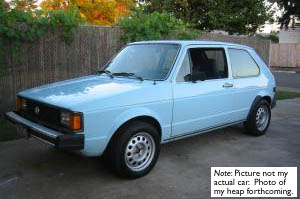 79 VW Rabbit