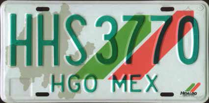 Hgo Mex #HHS3770