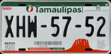 Tamps Mex #XHM-57-52