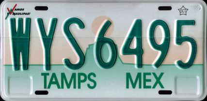 Tamps Mex #WYS6495